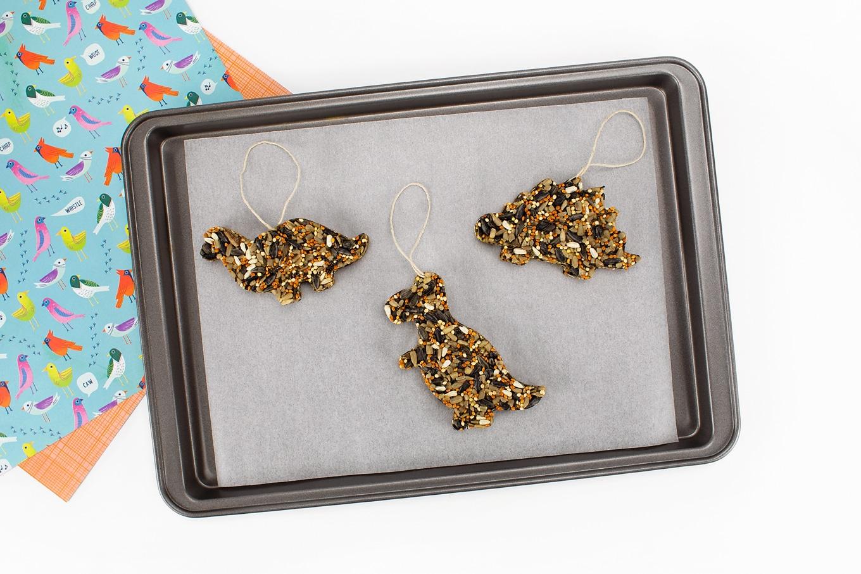 Vegetarian Birdseed Ornaments