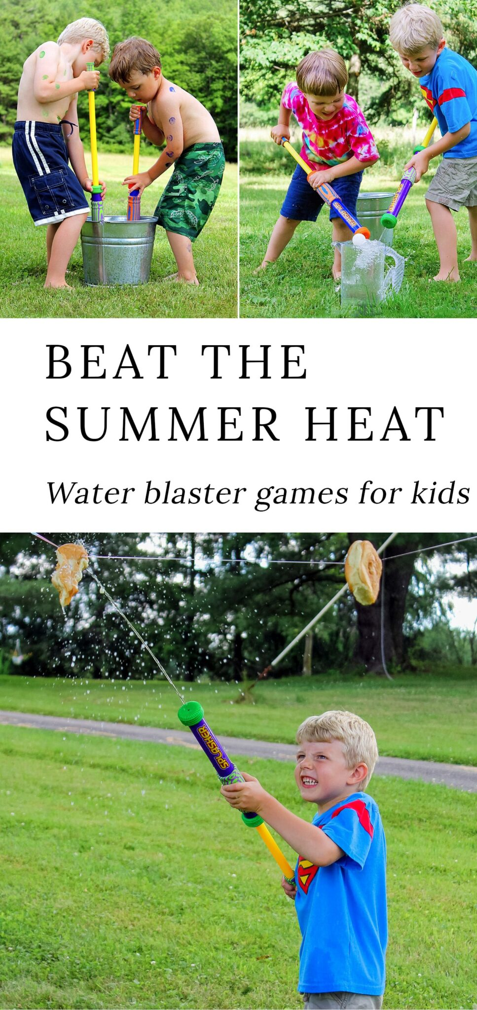 Beat the Heat with Water Blaster Games