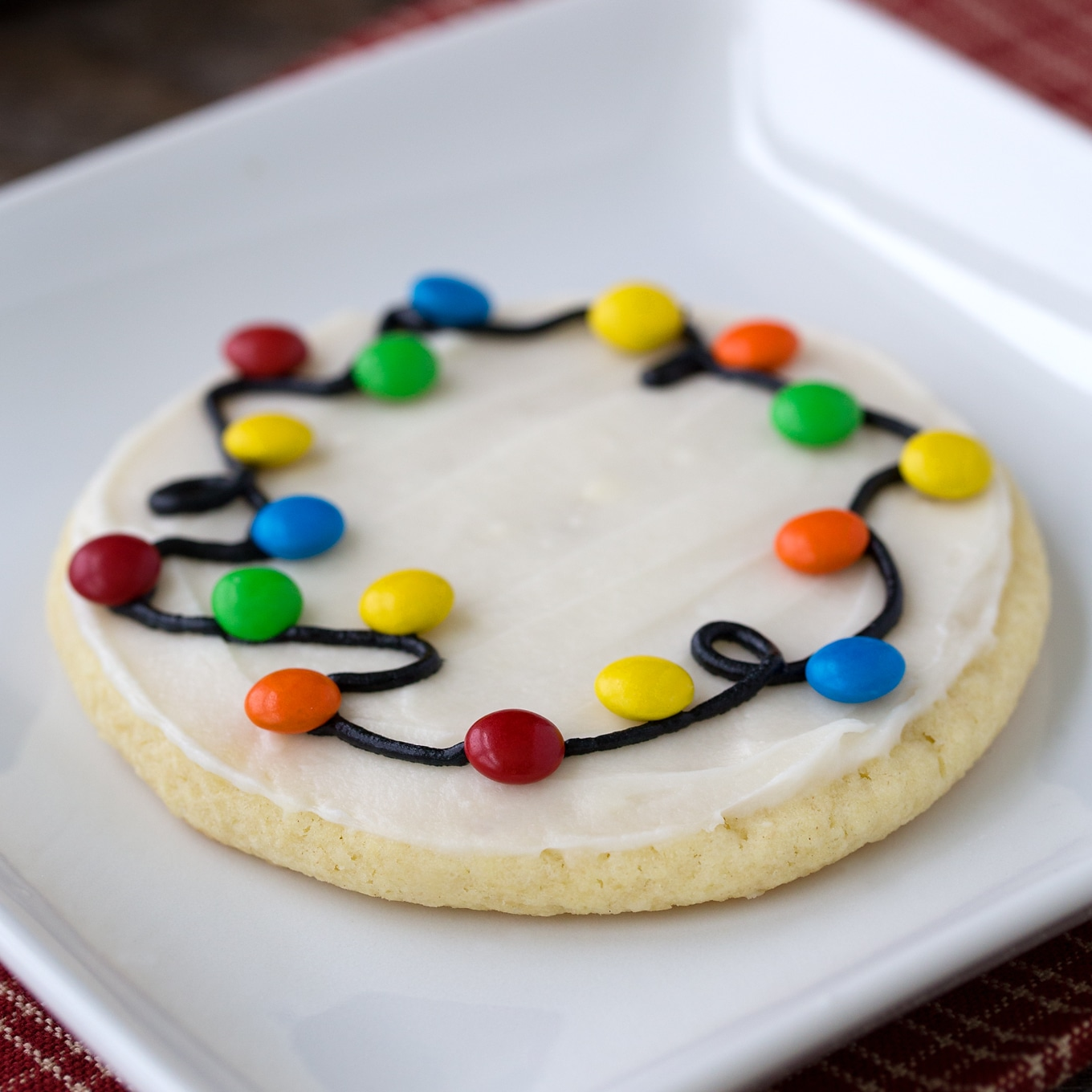 Easy and Delicious Christmas Lights Cookies