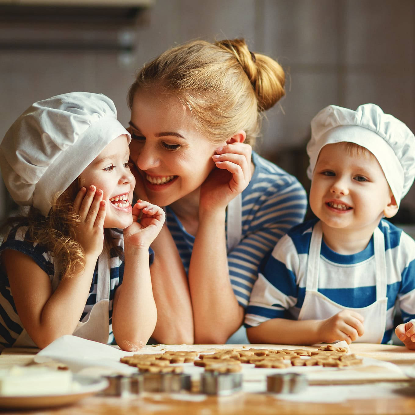 Whether dessert, dinner, breakfast, or lunch, cooking with kids is fun and has many positive benefits for both parent and child.