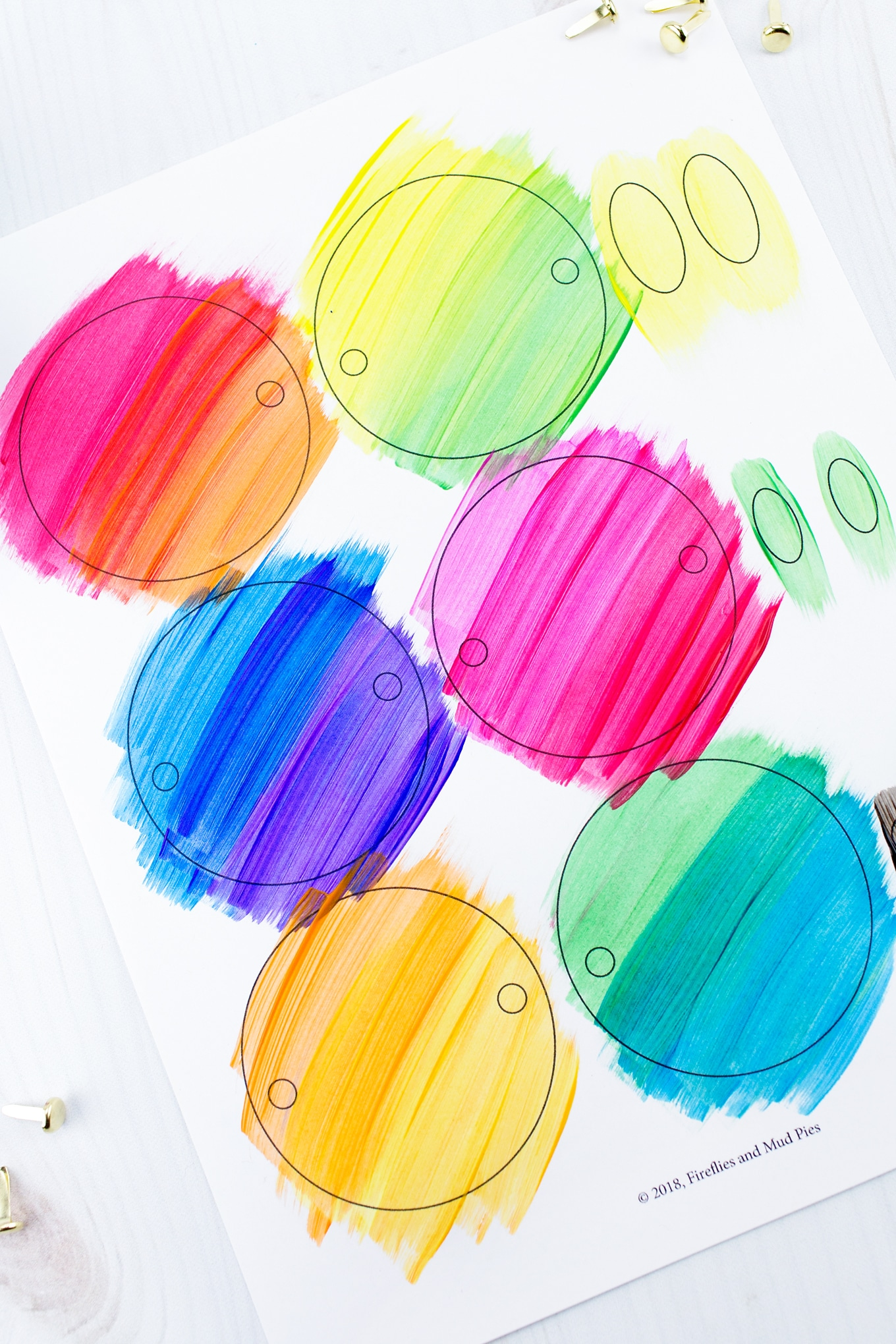 Materials Needed for Easy and Fun Caterpillar Craft