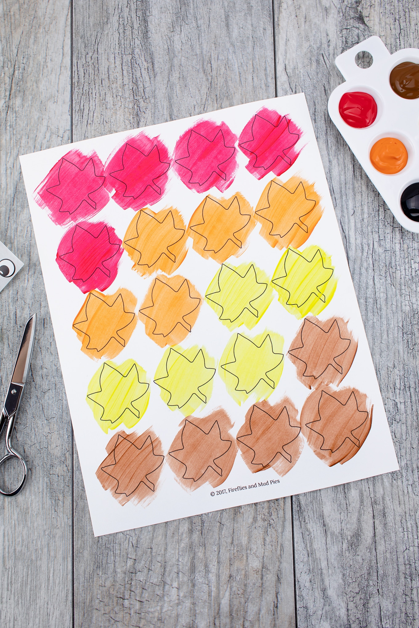 Easy Paper Hedgehog Craft In-Process