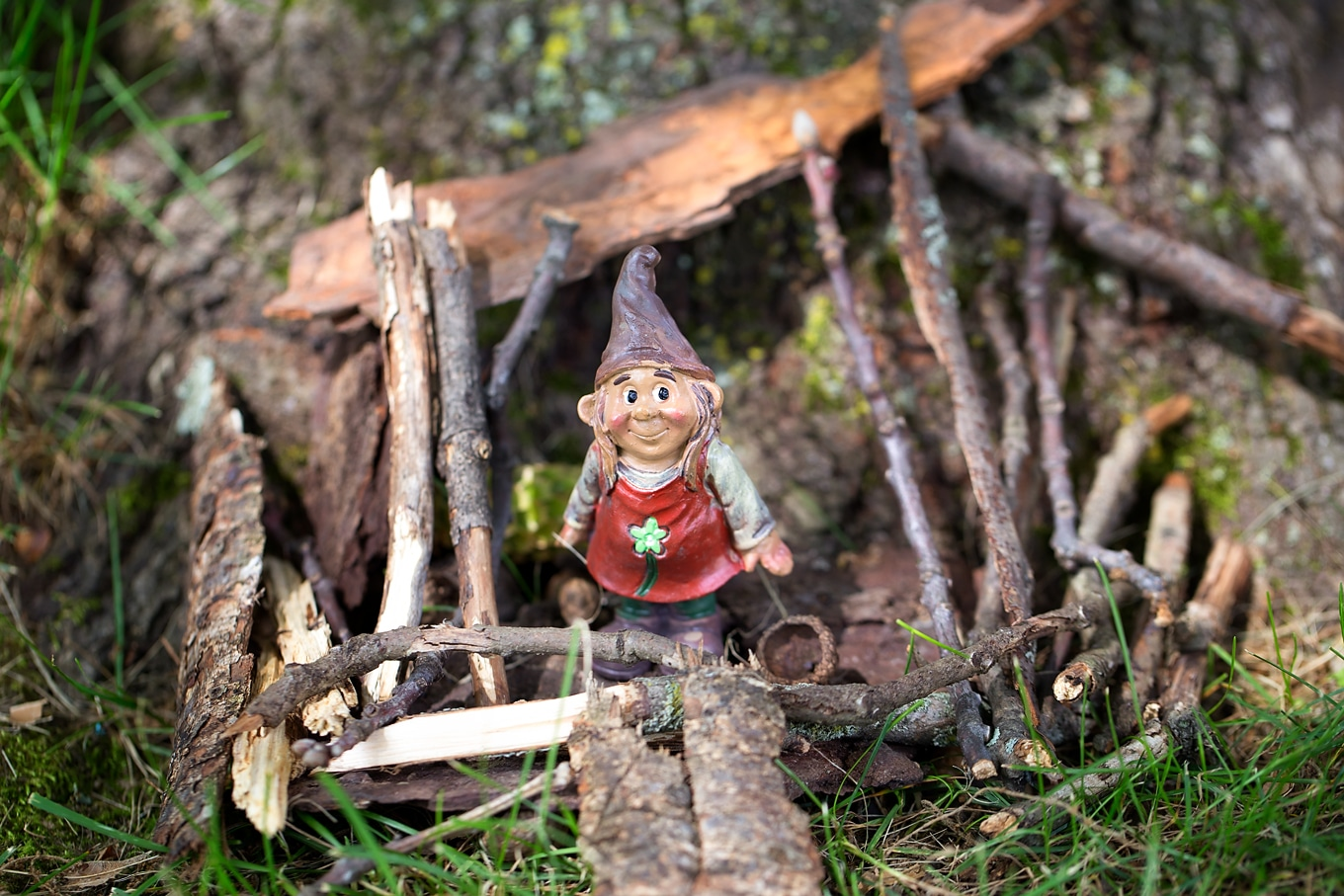 Gnome and Fairy Home Building on a Nature Walk