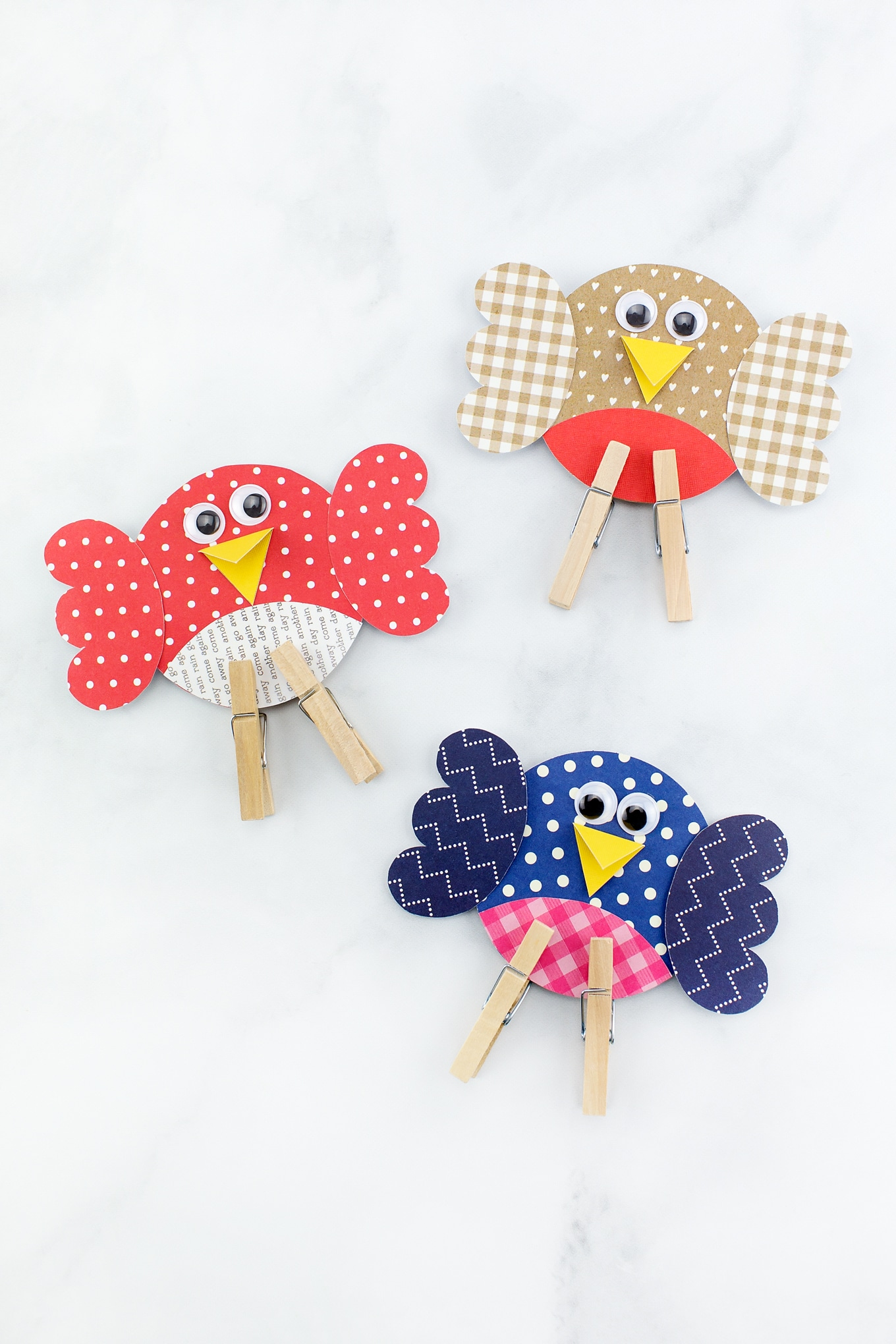 Easy and Fun Paper Bird Craft for Kids