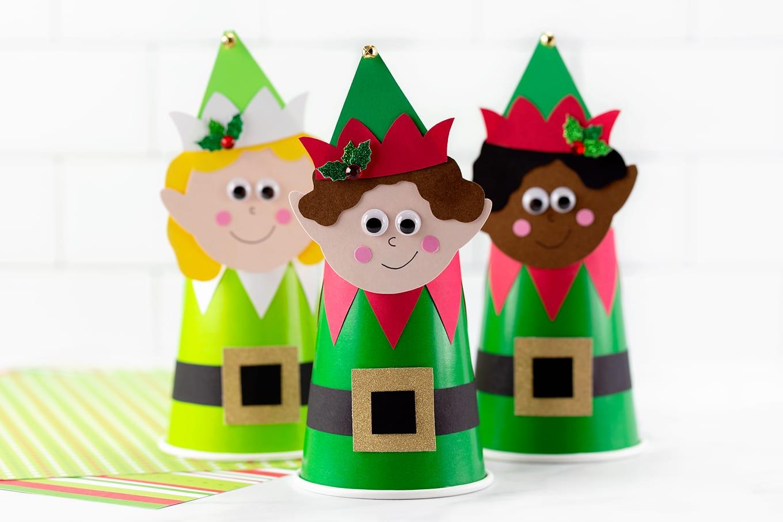 Paper Cup Elves