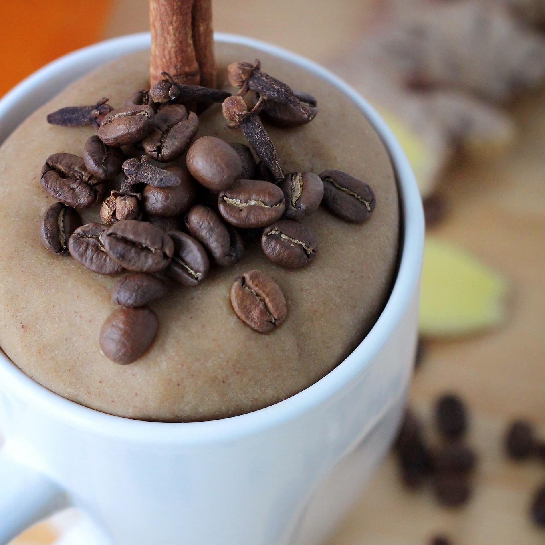 Pumpkin Spice Latte Playdough in a Mug