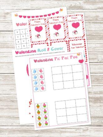 Free Printable Valentine Activity Pack