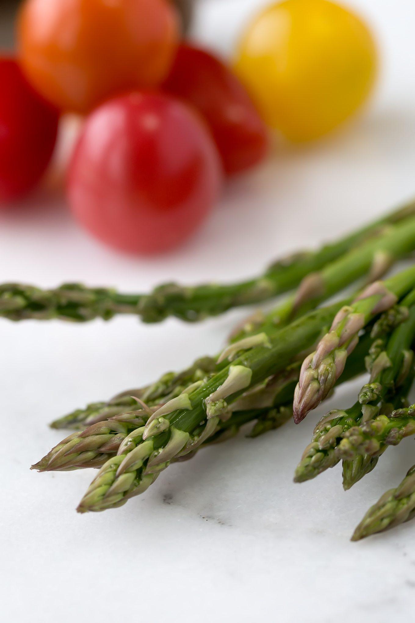 Asparagus for Vegetarian Egg Casserole