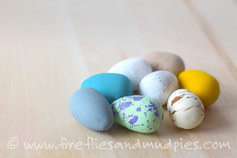 Painted Bird's Eggs | Fireflies and Mud Pies