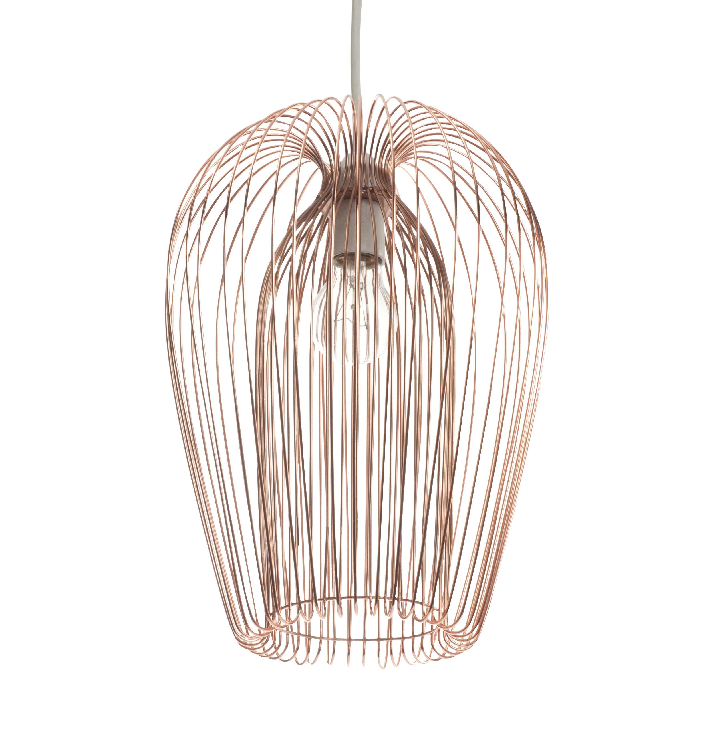 Jonas Copper Wire Pendant Ceiling Light