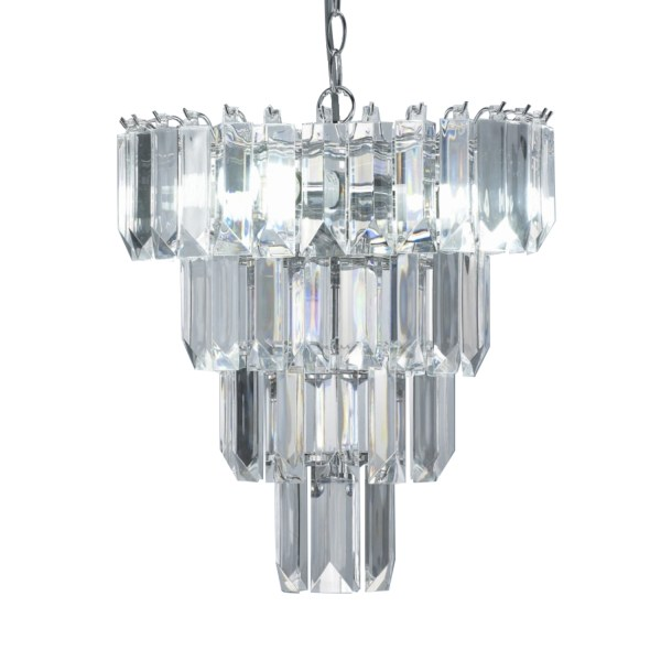crystal chandelier tiered # 66