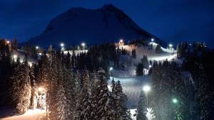 New Years Eve Celebration Explodes At Mt Hood Meadows