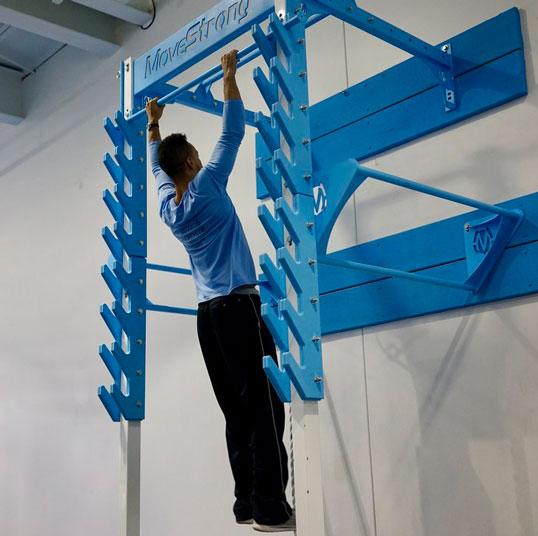 Movestrong Salmon Ladder For Ninja Training 187 Fitness Gizmos
