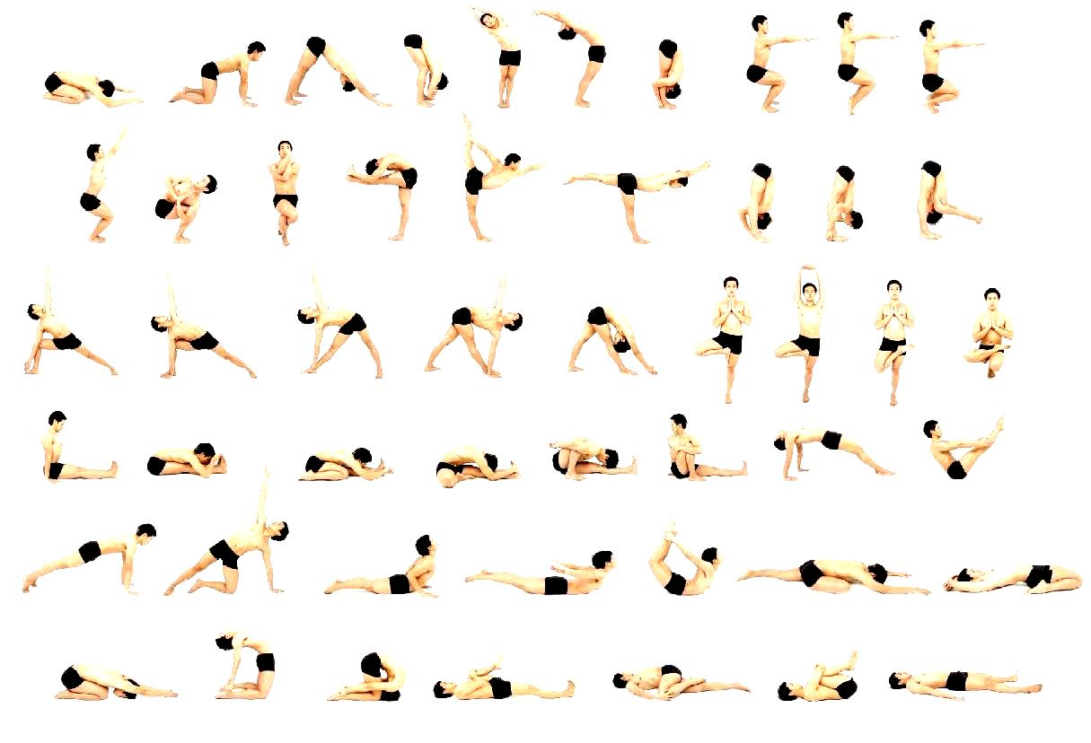Bikram Yoga Poses Printable