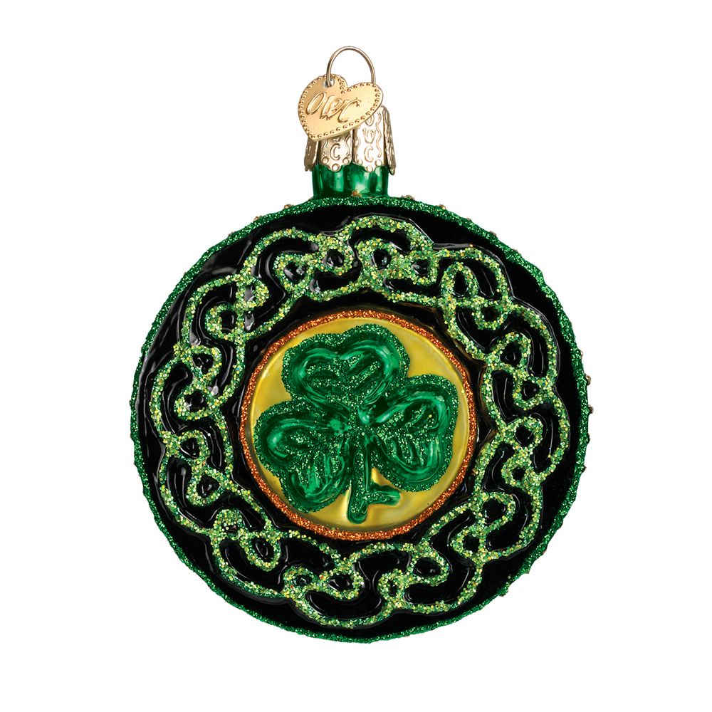 Old World Christmas Celtic Brooch Ornament Fitzula S Gift