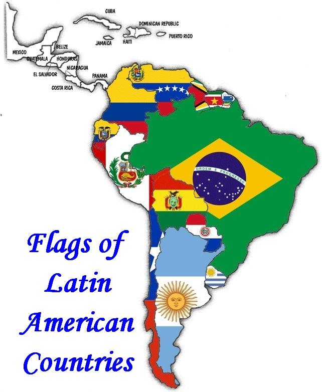 Latin Pic Flags America Whole