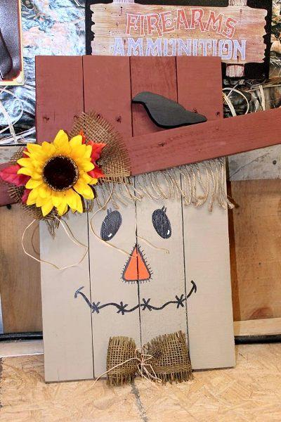 Linda S Easy Pumpkin Man Flea Market Gardening