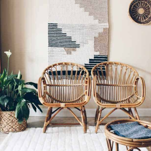 The Resurgence of Rattan in Home Decor   Flea Market Insiders The Resurgence of Rattan and Wicker Furniture in