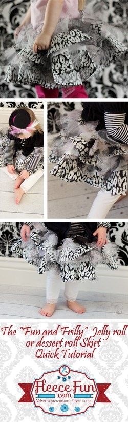 I love this cute skirt for little girls.  Such a great sewing tutorial.  Perfect DIY sewing project.