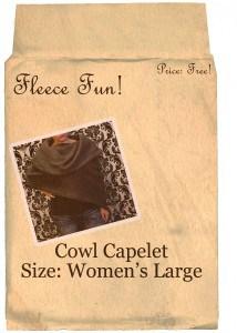 cowl capelet large