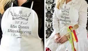 Thanksgiving apron