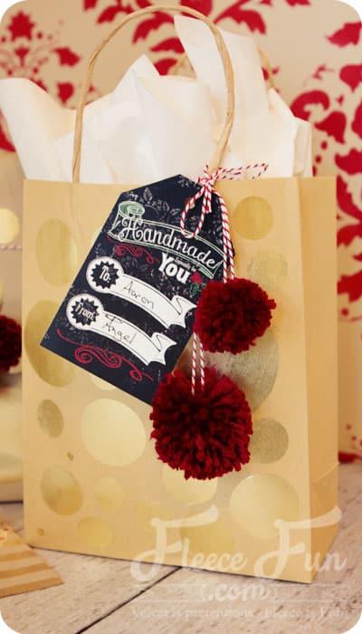 free printable christmas gift tag