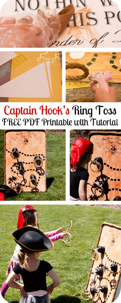 Pirate Party Ring Toss Game Tutorial