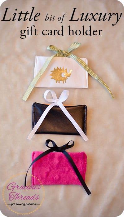 gift card holder pin image