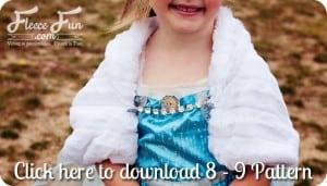 elsa free cape pattern download
