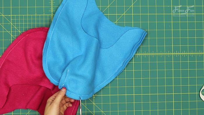 Fleece Hat with Ear Flaps Pattern