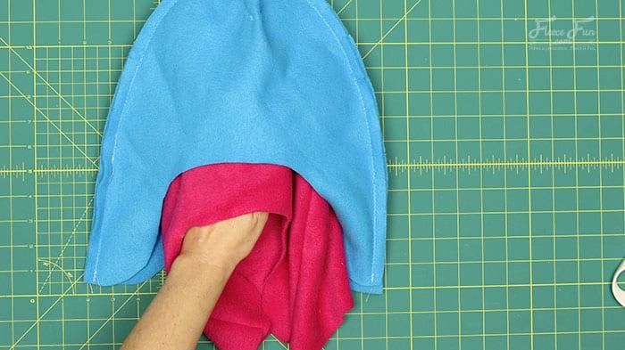 fleece hat with ear flaps free pattern