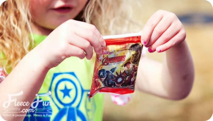 avengers snack