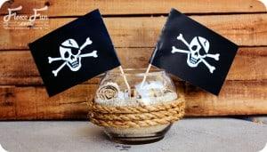 pirate cetnerpieces
