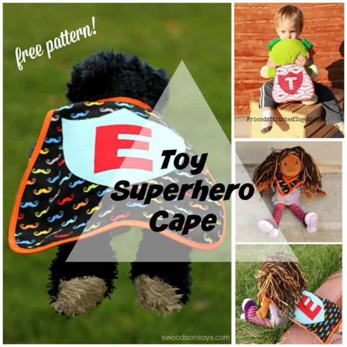 toy superhero cape