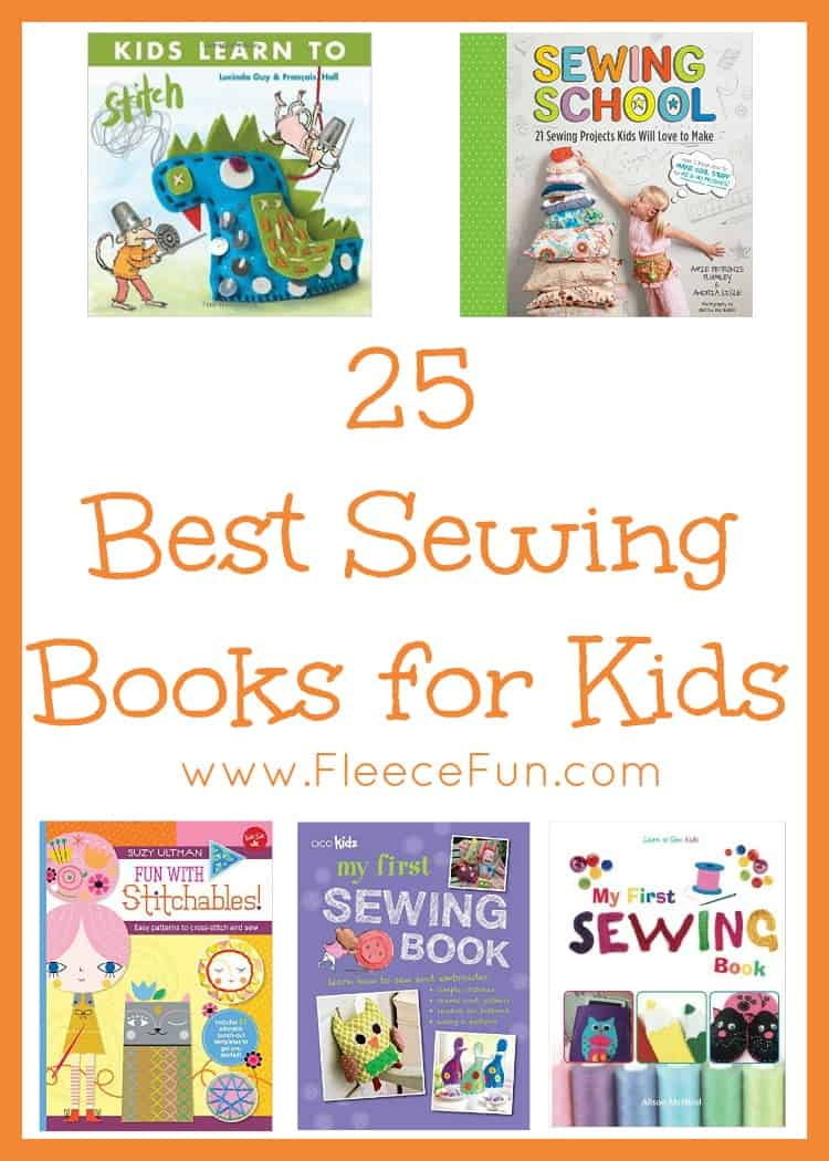 I love this collection of the best sewing books for kids.  So many great resources for teaching them how to sew!