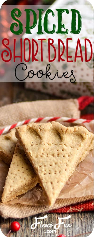 I love the idea of shortbread taken up a notch.  This is a great Christmas cookie recipe.