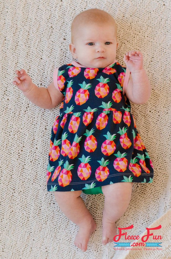 I love this collection of Easy Baby Sewing Patterns (Free pdf, and video tutorial). perfect sewing projects for babies that are good for beginning sewers. Love how that there is a little bit of everything from hats to pants, to shirts to sofites!