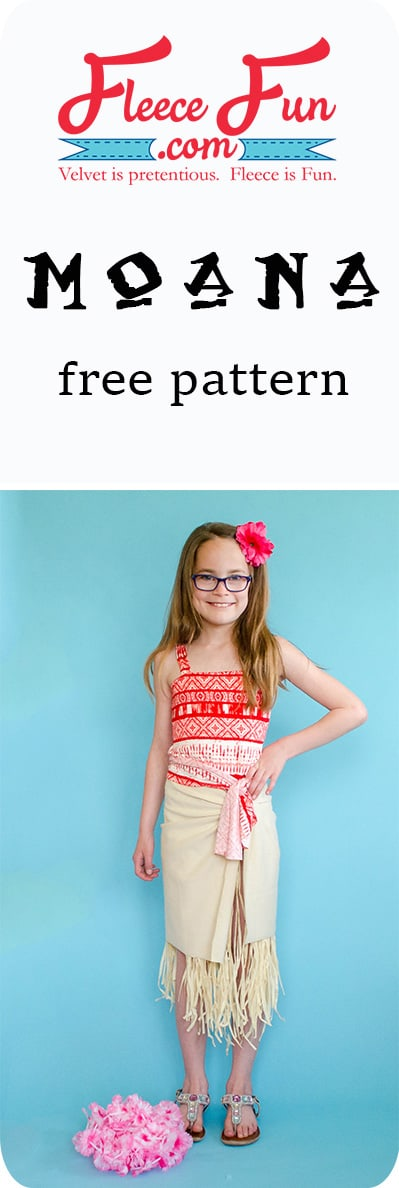 I love this Moan costume tutorial.  It looks easy to make.  Great sewing project for Halloween or a party! Perfect costume DIY.