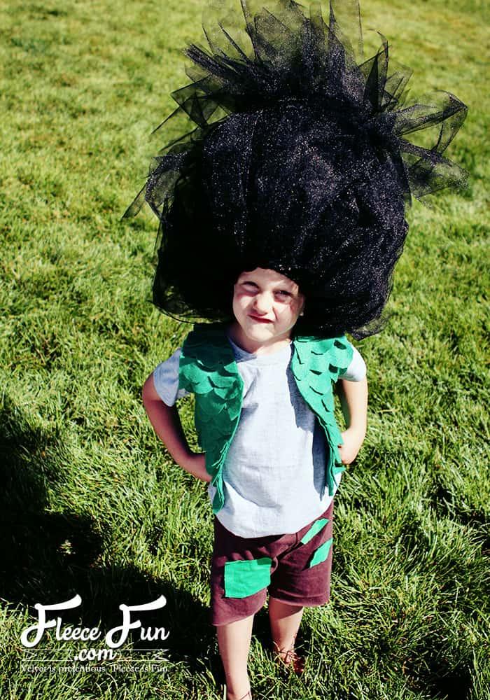 New Costume Tutorial:  Branch Trolls Inspired!