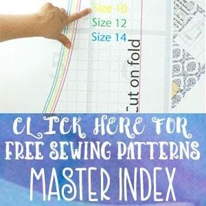 Free sewing patterns perfect for beginners. There are a wide variety of patterns sizes baby to adult. Many pdf patterns come with a video tutorial.