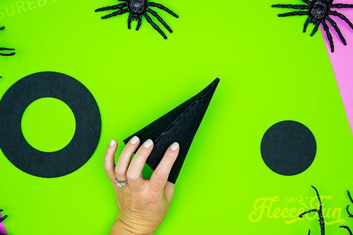 the cone shape restored. This DIY Mini Witch Hat is no sew and comes with a free PDF pattern and SVG template to make it a breeze! 3 mini sizes so you can make the perfect hat!