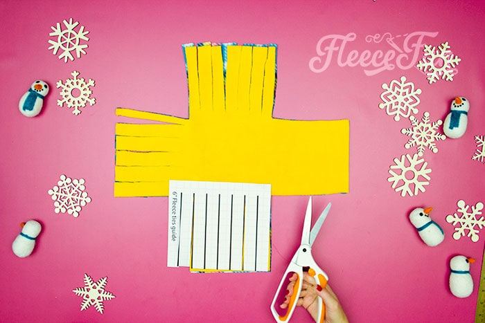 how template is used. Learn how to make a No Sew Fleece Tie Blanket 3 different ways. Never before seen techniques and FREE templates to make it fast and easy.