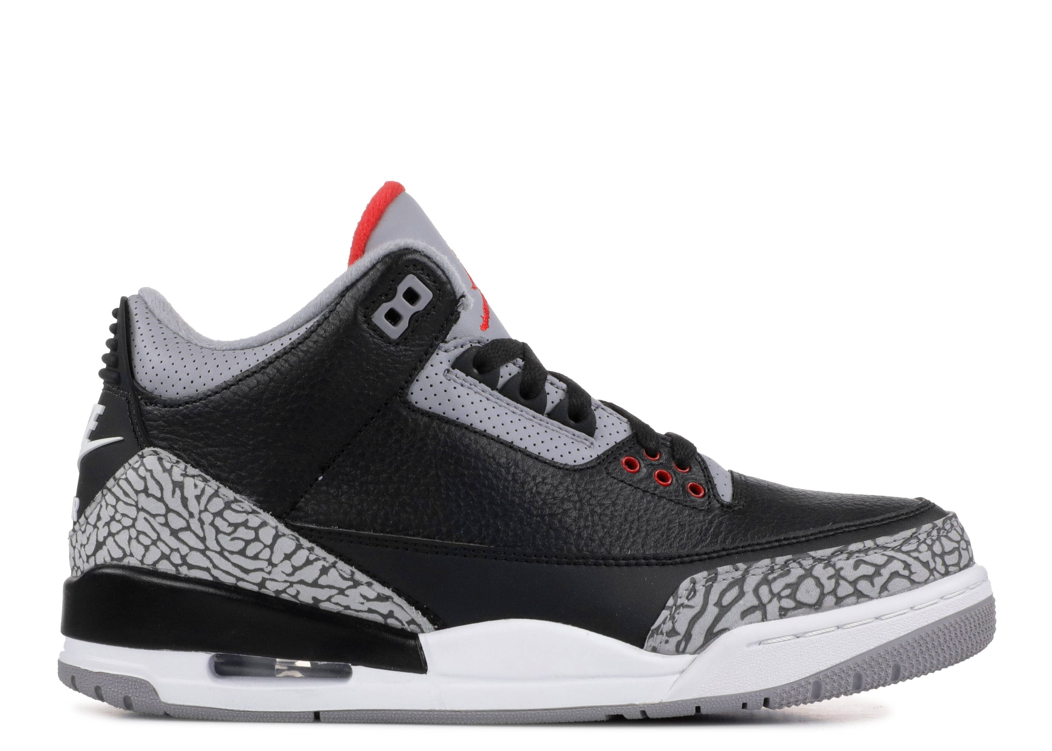 Air Jordan 3 Retro Og  black Cement    Air Jordan   854262 001     air jordan 3 retro og  black cement