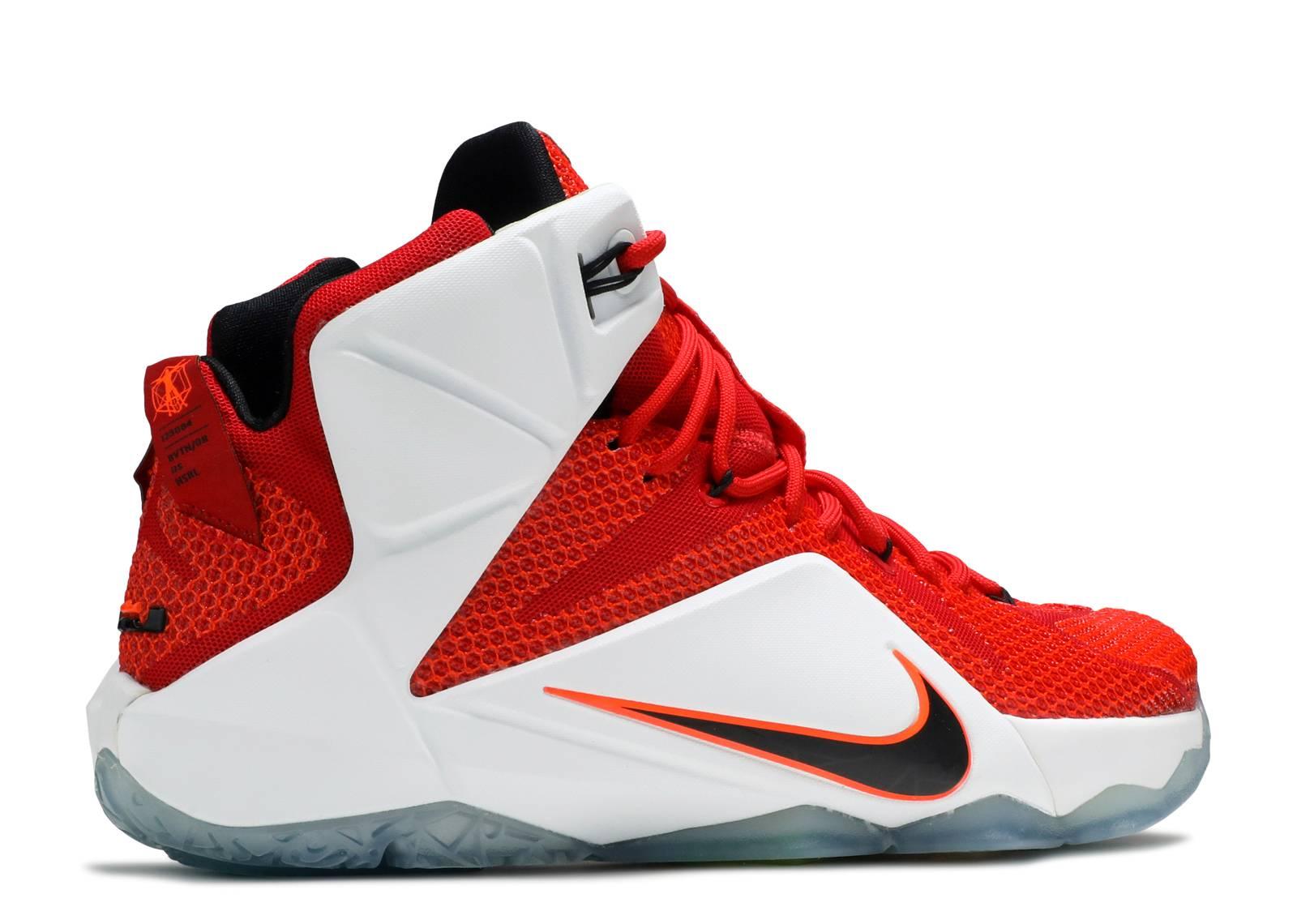"Lebron 12 ""heart Of A Lion"" - Nike - 684593 601 - unvrsty ..."