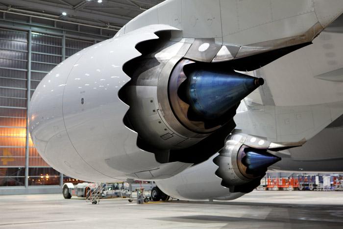 Photos 747 8 Intercontinental In Frankfurt Flightstory