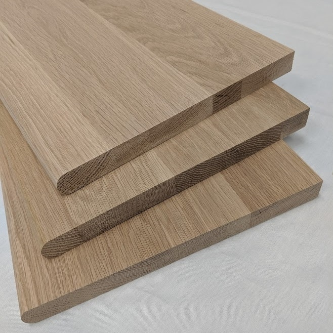 Bullnose Stair Treads 1 X 11 1 2 Unfinished Or Prefinished | Best Wood For Stair Treads | Flooring | Reclaimed Wood | Pine | Non Slip | Stair Climber
