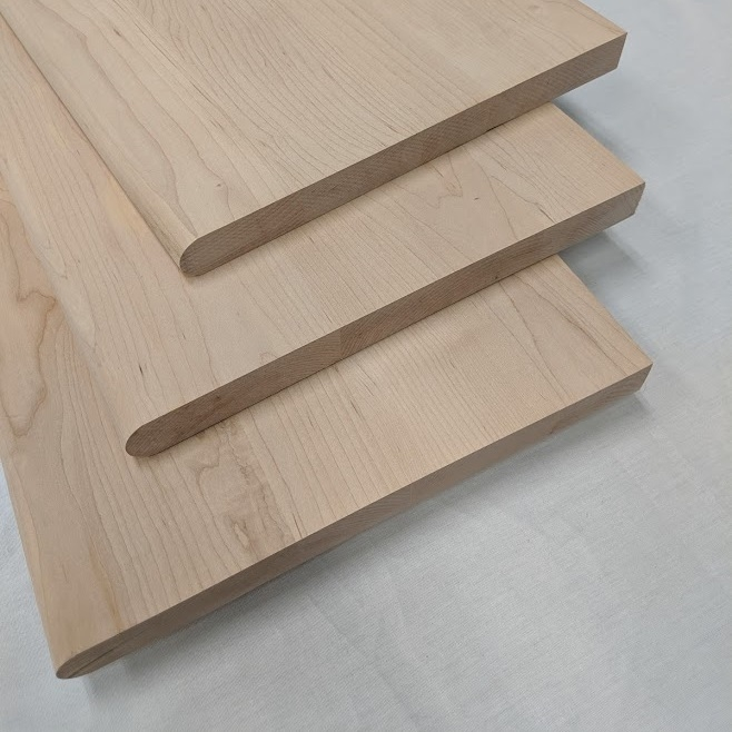 Hard Maple Stair Treads And Risers Prefinished And Unfinished   Prefinished Maple Stair Treads   Unfinished Maple   Hardwood Flooring   Prefinished Natural   Natural Maple   Hard Maple