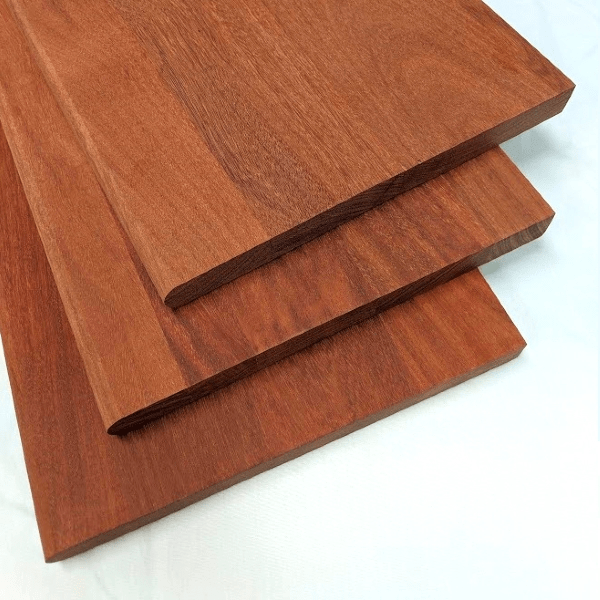 Santos Mahogany Stair Treads Unfinished And Prefinished Exotic | Prefinished Wood Stair Treads | Hickory | Risers | Natural Red | Red Oak Stair | Stair Nosing