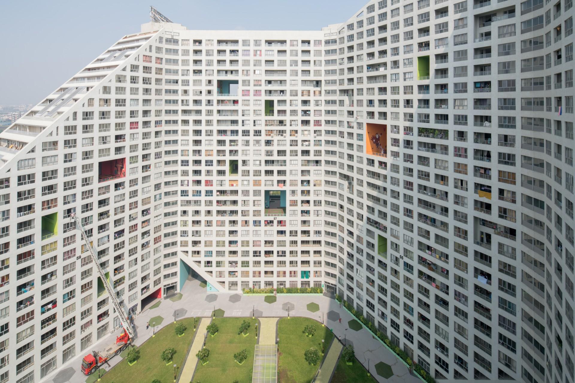 Mvrdv Future Towers Amanora Park Town Pune India Floornature