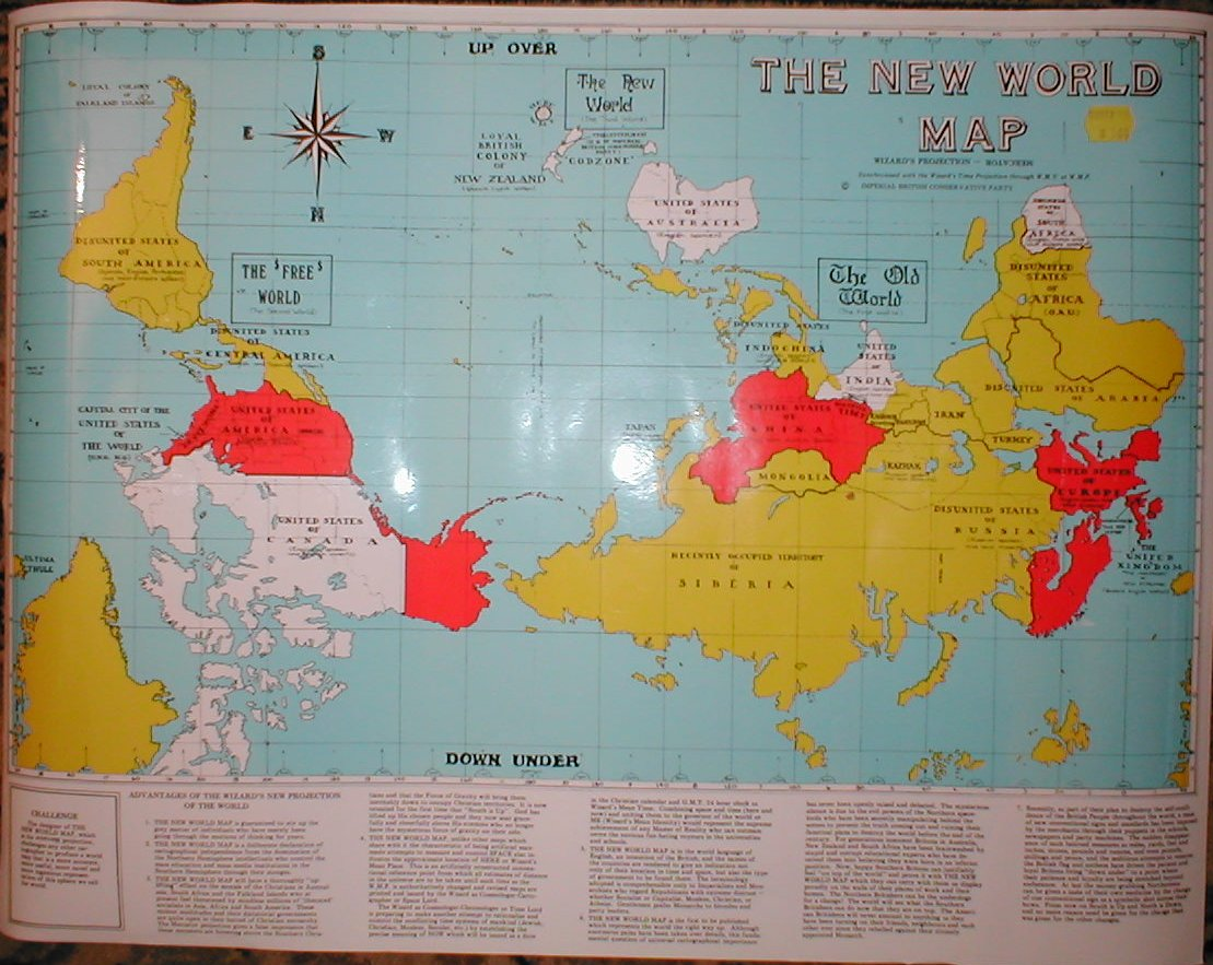 The Upsidedown Map Page   Francis Irving The Wizard of New Zealand s Map